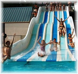 Water park near our gite