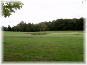 Golf course near our gite in Evran