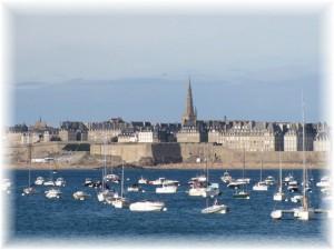 St Malo walled town
