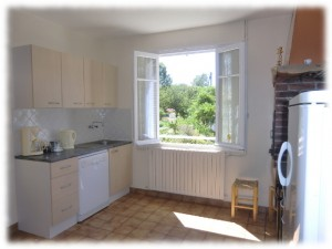 kitchen gite dinan