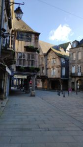 Old part of Dinan