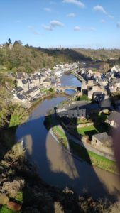 Dinan port from the viaduc